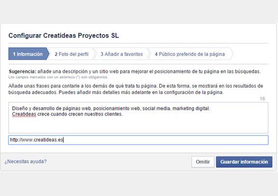 guia-pagina facebook-config-informacion