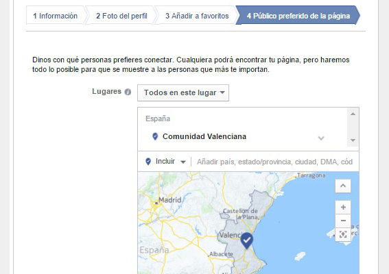 guia-pagina facebook-config-segmentacion-favorita