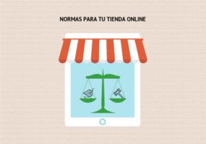 normas para tienda online