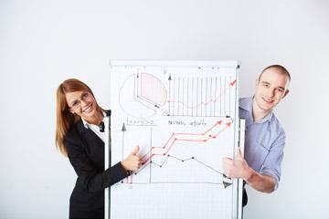 Quiénes somos trabajadores gráfico ventas