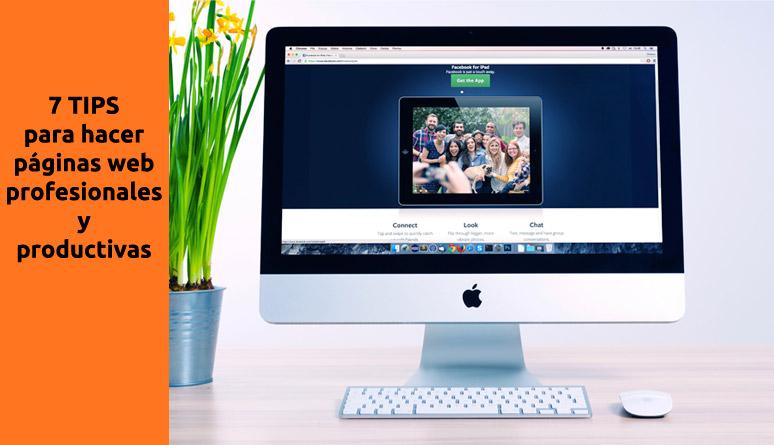 como hacer paginas web